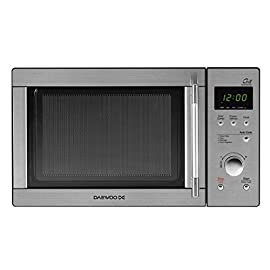 Daewoo KOG-837RS Forno a Microonde Digitale Combinato Grill, Inox, 23 lt