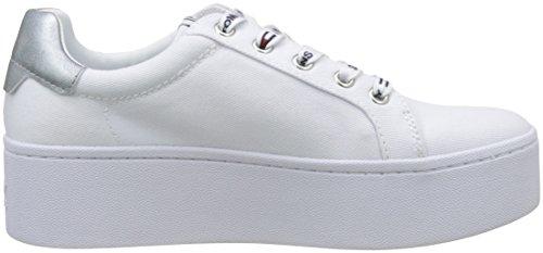 Mujer Zapatillas Flatform Jeans Para Tommy Sneaker qXPvwy1