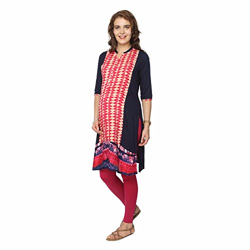 1b3ec239b2e This dark pink nursing kurta is perfect for the ethnic   modish look. It  can be worn throughout pregnancy and post pregnancy.