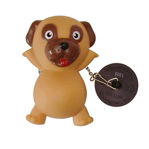 Hund Badewannenstöpsel mit LED-Licht - Hund Abflussstopfen Stöpsel Stöpsel