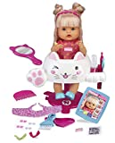 Nenuco Peluquería Purpurina - Muñeca Bebé peina y corta el pelo, para niños y niñas a partir de 3 años (Famosa 700015153)