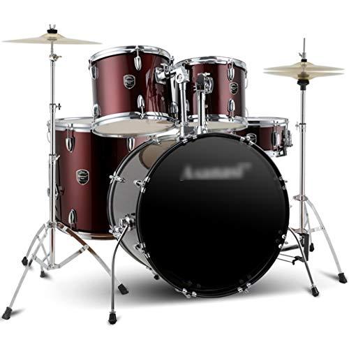 Musikinstrumente Schlagzeug & Schlagwerk Drums Adult Children Es Beginner Übungstraftrommeln Adult Drum Sets Entry Test Jazz Drums Professional Drums (Color : Red, Size : 120 * 160cm)