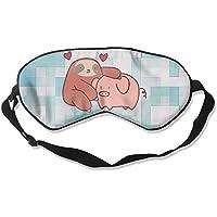 Sloth Loves Pig 99% Eyeshade Blinders Sleeping Eye Patch Eye Mask Blindfold For Travel Insomnia Meditation preisvergleich bei billige-tabletten.eu