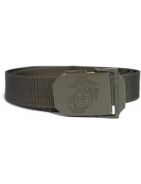 Mil-Tec Cinturón De Pantalón De Usmc 30 Mm - OLIVA
