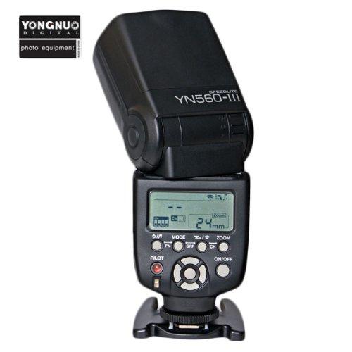 Yongnuo YN560-III Flash professionnel YN560-III Speedlite du Yongnuo YN560-III pour caméras Canon, Nikon, Pentax, Olympus