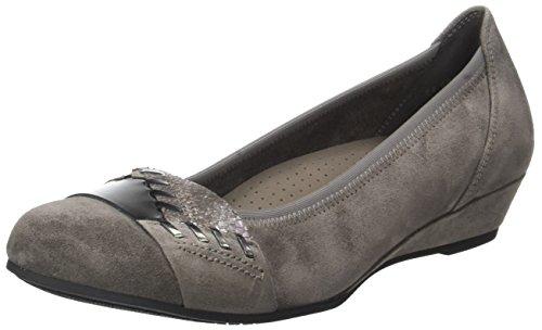 Gabor Shoes Comfort Sport, Ballerine Donna Grigio (33 Elephant)