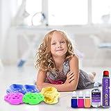 Desire Deluxe Schleim Set (27 teilig) zum selber machen, ideales Slime Spielzeug für Kinder ab 4 Jahren, Wissenschaft Lernspiel, für Jungen und Mädchen - 4