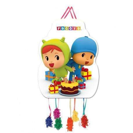 Piñata Pocoyo y Nina grande
