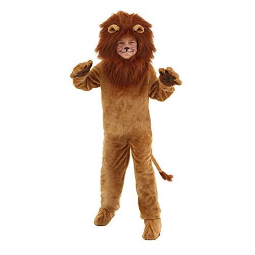 Kostüm Langhaariger Löwe Cub Romper-Halloween Weihnachten Cosplay Tier Pyjamas Kostüm-Baby/Kind/Erwachsener ()
