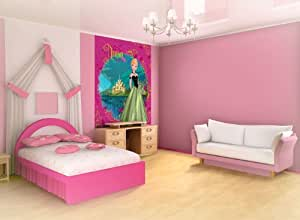 Disney Reine des Neiges Papier peint photo papier peint photo Décoration Murale, intissé, XXL: 3,10 x 2,19 m ? 3 Teilig