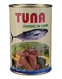 Sea Wonder Tuna Chunks in Brine - 450 GMS