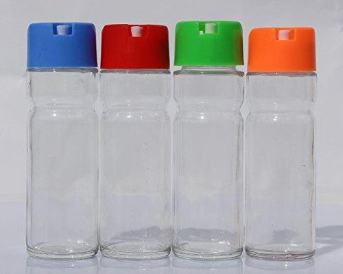2x-ol-essig-spender-glas-150ml-versch-farben-flasche-dekorativ-stylisch