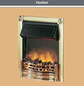 Dimplex Horton Brass Inset Electric Fire