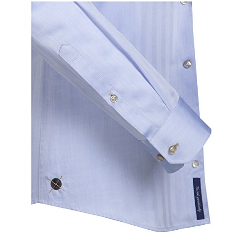 Jacques Britt Herren Slim Fit Business Hemd KAI (98) hellblau (0011)