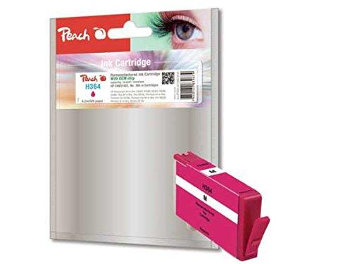 Peach PI300-547 Magenta Remanufactured Tintenpatronen Pack of 1