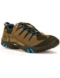 TIMBERLAND 284-TIMBERLAND Zapatilla Trekking hombre A155x - marrón/azul
