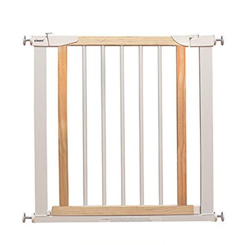 Weißes Hölzernes Baby-Tor Für Tür-Erweiterungs-Sicherheit 1. Druck-passende Versenkbare Haustier-Tür Für Treppe Innen 75-180cm Weit (größe : 124-131cm) (Tore Weit Die Hund)