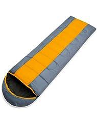 SOLVHK Saco de Dormir Grueso 1.3kg Wind Tour Térmico Adulto Saco de Dormir Otoño Invierno