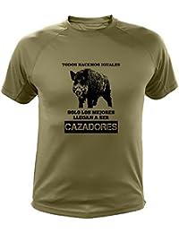 Camisetas Personalizadas de Caza, Todos nacemos Iguales, Ideas Regalos, Verraco (30142,