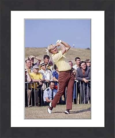 Framed Print of Jack Nicklaus - British Open Golf Championship