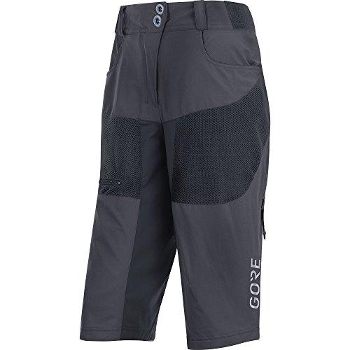 Gore Wear C5 All Mountain Pantalón Corto, Mujer, Gris (Gris Terra), 34