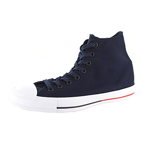 Converse Chuck 153792C Sneaker High black/white/lava Dark-Navy