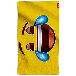 Emoji® Toalla Lagrimas de Risa (80x160cm)