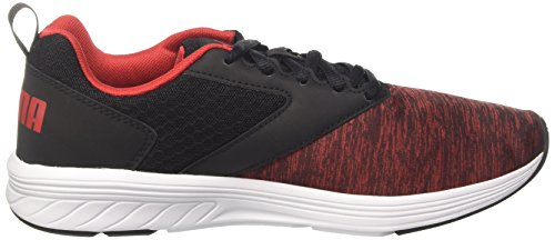 Puma Unisex Nrgy Comet Cross-Trainer Outdoor Fitnessschuhe Schwarz (Puma Black-High Risk Red)