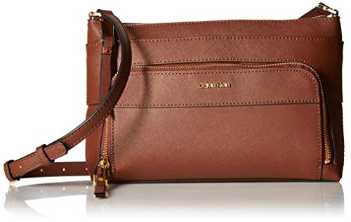 Lily Zip (Calvin Klein Lily Saffiano Leather Top Zip Crossbody)