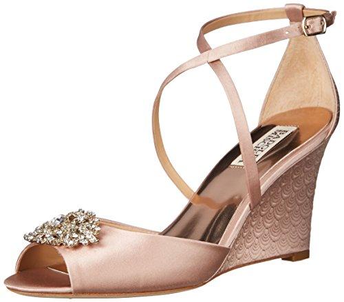 badgley-mischka-abigail-femmes-us-6-rose-sandales-compenses