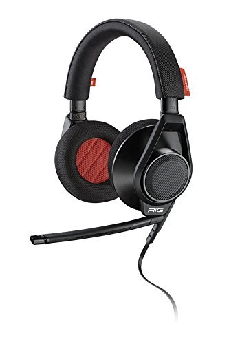 Plantronics RIG Flex Gaming Headset Two Mic Options, For Mobile Devices and PC, Mac, Black 201940-01 Plantronics Mobile