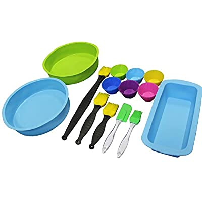 20 Piece Silicone Baking Bakeware Set