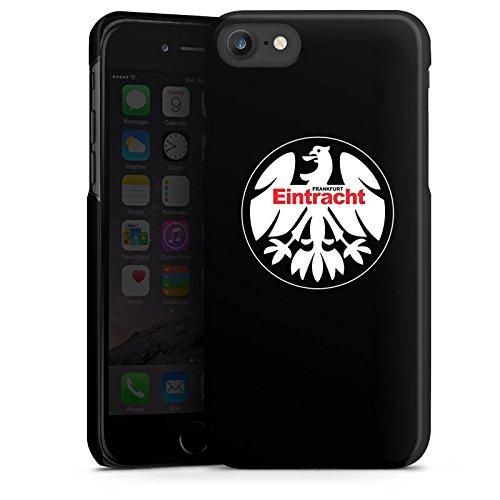 Apple iPhone 6 Plus Tasche Hülle Flip Case Eintracht Frankfurt Fanartikel Fussball Hard Case schwarz