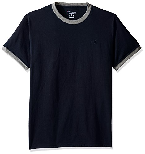 Champion -Camicia Uomo Navy/Oxford Gray Heather