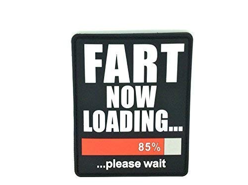 Fart Now Loading PVC Großes Airsoft Abzeichen Klett Patch