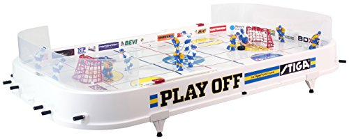 STIGA Tischspiel Play OFF, weiß, 90x50x8 cm (Kicker-tisch Weiß)