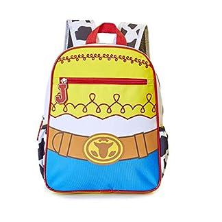 Toy Story 4 Mochila Infantiles con Diseño Clásico De Woody Y Jessie para Niños | Guardería Bolsa De Preescolar O Bolsa De Viaje para Niños Pequeños | Talla Única