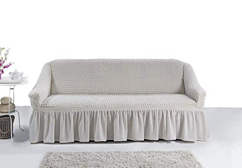 Ektorp Sofa (My Palace 3 Sitzer Sofabezug Sofahusse Sofaüberwurf 3 er Couchbezug Sofaschoner 3er Couchschoner. 3-Sitzer Schutzbezug.)