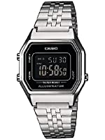 Casio Damen-Armbanduhr Casio Collection Digital Quarz Edelstahl LA680WEA-1BEF