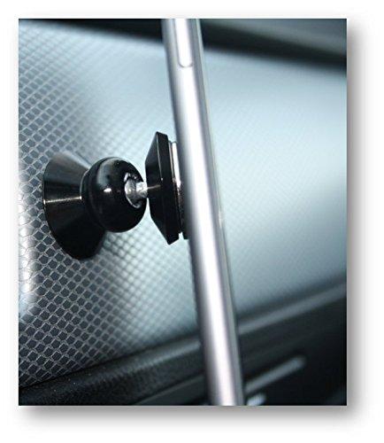 """Preisvergleich Produktbild Nargo Keeper-S KFZ Handyhalterung. 360 Grad Magnet Handy Halter für Auto und LKW am Armaturenbrett. Für Smartphone bis 5,7"""" z.B. IPhone 7 / 7 Plus, Samsung Galaxy / HTC / Nexus / Huawei. Einfach einstellbar, leichtes Anbringen."""