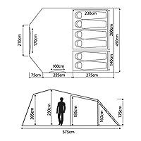 eurohike bowfell 600 6 person tent