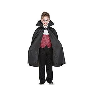 Fyasa 706437-T02 Capa de Disfraz para niños de 7 a 9 años,, tamaño Mediano