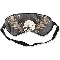 Sleep Eye Mask Skull Wing Abstract Lightweight Soft Blindfold Adjustable Head Strap Eyeshade Travel Eyepatch E10 preisvergleich bei billige-tabletten.eu