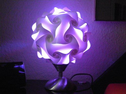 Touch Tischleuchte Höhe 27 cm inklusive 16 Farben LED Farbwechsler