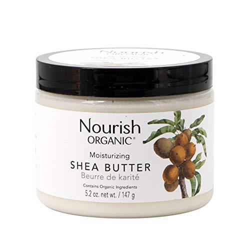 Organic Raw Shea Butter (Nourish Organic Raw Shea Butter Intensive Moisturizer 5.5 oz by Nourish)