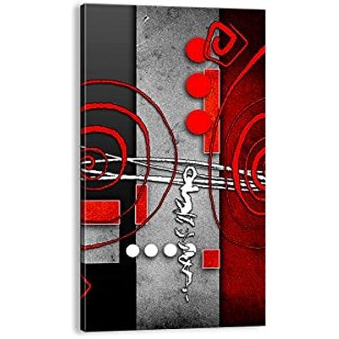 Cuadro sobre lienzo - de una sola pieza - Impresión en lienzo - Ancho: 45cm, Altura: 80cm - Foto número 0599 - listo para colgar - en un marco - PA45x80-0599