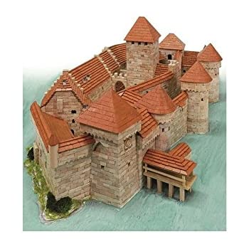 Maquette en céramique : Château de Chillon, Veytaux, Suisse
