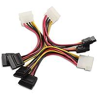 Cable Matters® (3 Pack) Cavo di Alimentazione SATA 15cm