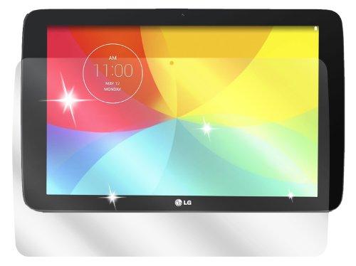 dipos I 2X Schutzfolie klar passend für LG G Pad 10.1 Folie Bildschirmschutzfolie
