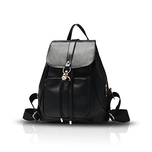 Tisdaini Neue Artikeln Mode Damen Rucksackhandtaschen PU die Schulrucksäcke die Reisetasche Handtaschen für Damen
